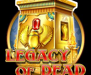 Legacy of Dead on Play'n GO:n uusin nettikasino kolikkopeli Faaraoiden maailmaan. Jos peli miellyttää, valitse Kasino itsellesi.